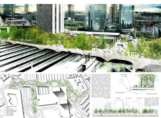 urban wood - bridge as a park