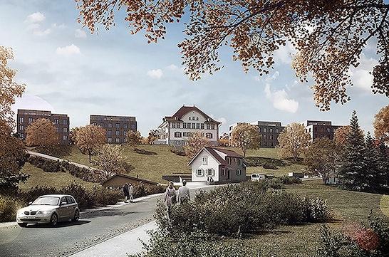 Ansicht von Dorfstrasse