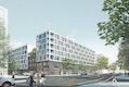ARGE ECB - zanderroth architekten / ZOOMARCHITEKTEN: Perspektive Heidestraße