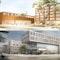 Zwei 2. Preise (kein 1. Preis) - oben: JSWD Architekten; unten: kister scheithauer gross architekten und stadtplaner GmbH mit club L94