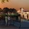 Nachtperspektive Römerbrücke, Graphik:Stube 13