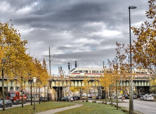 Eisenbahnüberführung (EÜ) Anckelmannsplatz Hamburg