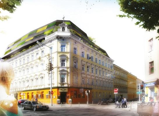 1. Preis Gablenzgasse: © BWM Architekten