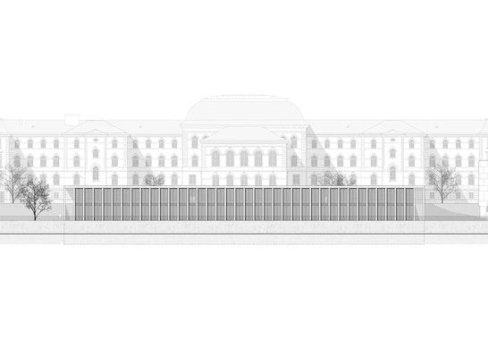 1. Preis: Ansicht Nord, © CODE UNIQUE Architekten