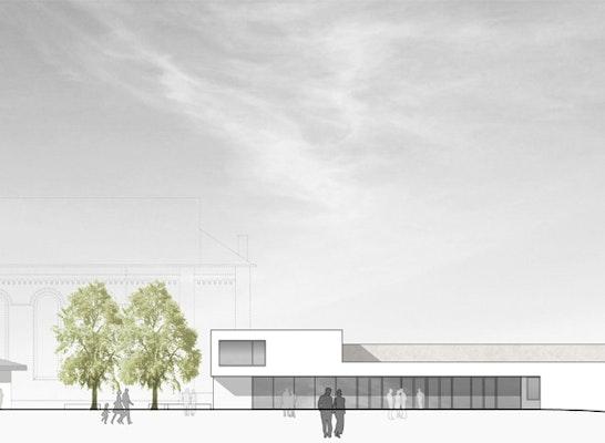 1. Preis: Ansicht Kirchplatz, © Kemper Steiner & Partner GmbH