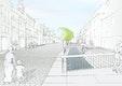1. Preis Obere u. Untere Hauptstraße, Seitenstraßen u. Moosachöffnung