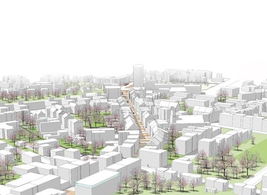 Zur Überarbeitung aufgefordert Gestaltung der Bochumer Straße