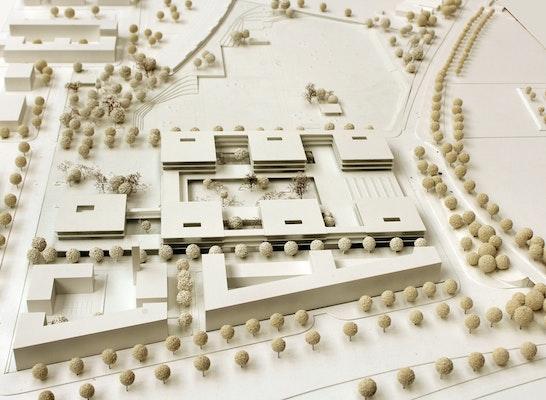 1. Preis Zuschlag: Modell, © h4a Architekten