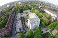 L+ | Wohnbebauung Osterbekstraße Blick vom Osterbekkanal