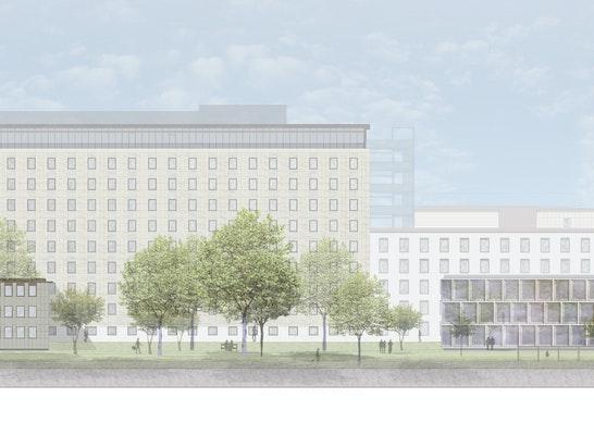 1. Preis: ©kadawittfeldarchitektur | Ansicht Nord-Ost