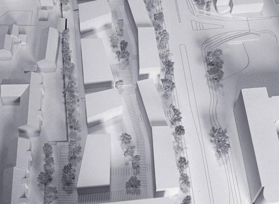 1. Preis: Blick von Süden, © Köstlbacher Miczka Architektur Urbanistik