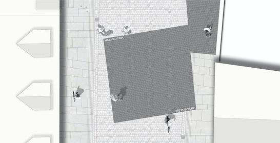 Anerkennung Stadteingänge / ST raum a. Gesellschaft von Landschaftsarchitekten mbH, Berlin und Numrich Klumpp Architekten