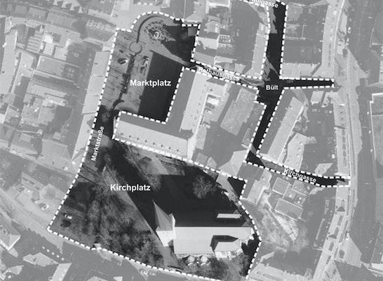 Umgestaltung von Platz- und Verkehrsflächen im IGZ-Quartier in der Innenstadt
