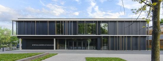 Auszeichnung: Neubau Stefan-Andres-Gymnasium mit Mensa und Bürgerzentrum, harter + kanzler ARCHITEKTEN, Foto: Olaf-Herzog