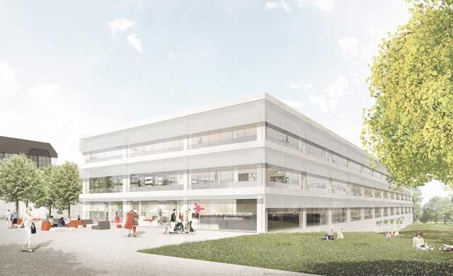 Neubau eines Lehr- und Lernzentrums der Hochschule RheinMain am Campus Kurt-Schumacher-Ring in Wiesbaden