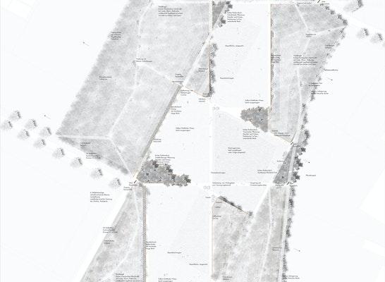 1. Preis Zuschlag: Lageplan - Gesamtumgriff, © WRW