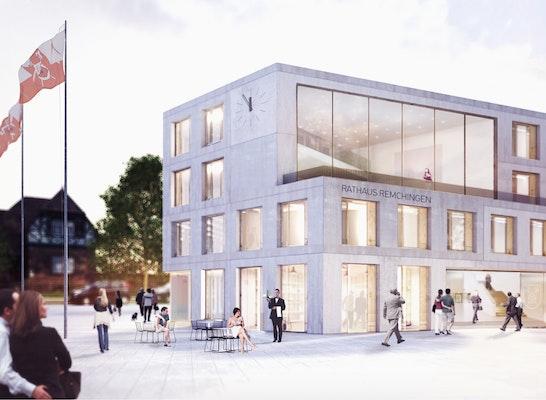 1. Preis: Blick vom Rathausplatz, © steimle architekten