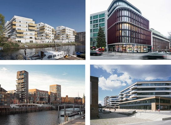 ein 1. Preis: Vier 1. Preise beim BDA Hamburg Architektur Preis 2016