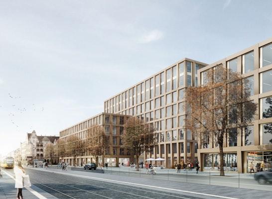 1. Preis: Betriebshof-Quartier Visualisierung, © Sacker Architekten