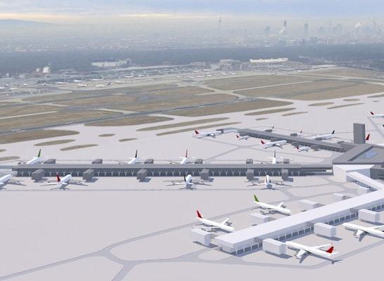 Neubau Terminal 3 - Flugsteige