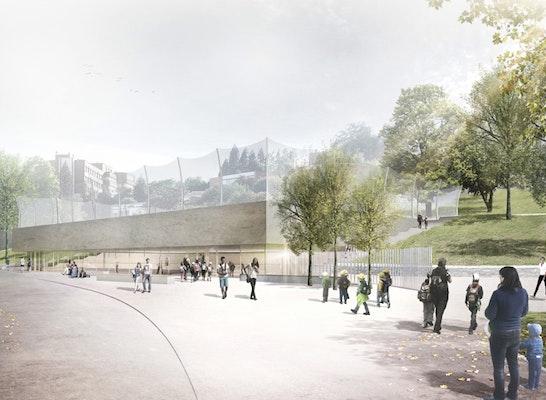 1. Preis: Visualisierung © Glück + Partner GmbH Freie Architekten BDA
