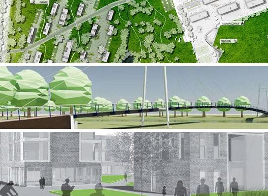 1. Preis Städtebau: Drei 1. Preise in den Kategorien Städtebau, Bauingenieurwesen und Architektur