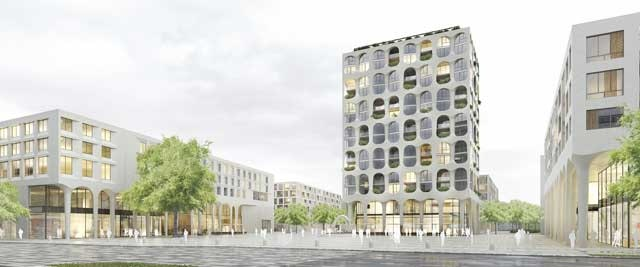 Neues Stadtteilzentrum Freiham Nord in München