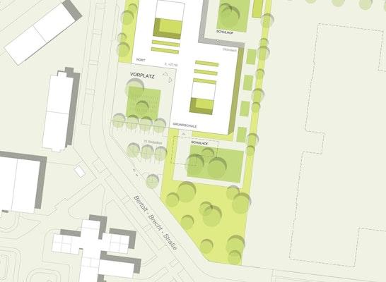 Ackermann + Renner Architekten / birke .  zimmermann landschaftsarchitekten / EiSat GmbH