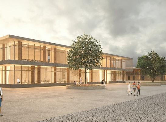 Perspektive Gesamtschule und Hallenbad