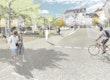 Fußgängerperspektive