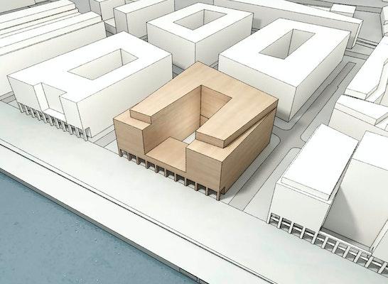 Preisgruppe Entwurfsbereich 1: Baufeld VIII, © ppp architekten + stadtplaner