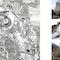 general plan - natural and industrial geothermal landscape