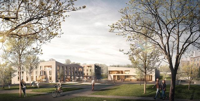Neubau einer Veranstaltungshalle, eines Hotels und einer Tiefgarage im Kaiserpfalzquartier in Goslar