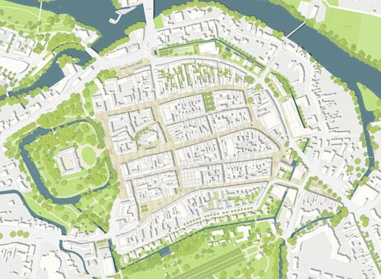 2. Preis: 2. Preis: pp a|s pesch partner architekten stadtplaner, Herdecke, Stuttgart; Architekturbüro Kramp, Lemgo