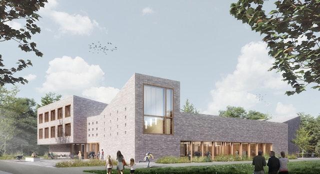 Neubau Begegnungszentrum Zuversicht und Kindertagesstätte in Berlin-Spandau