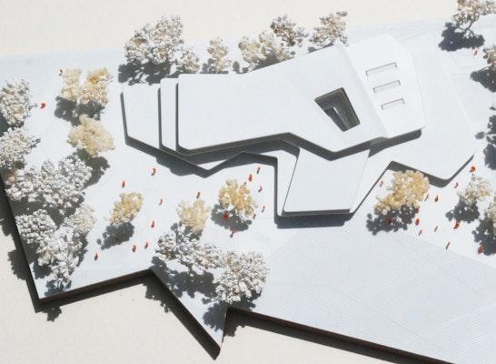 1. Preis: Modell, © Behnisch Architekten