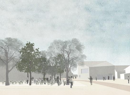 ein 2. Preis: © Burger Landschaftsarchitekten / Westner Schührer Zöhrer Architekten und Stadtplaner