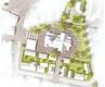 Lageplan Freiflächen Umfeld Stadtkirche Endausbau (2.BA) M 1:200