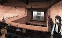 Theaterraum mit Bühne