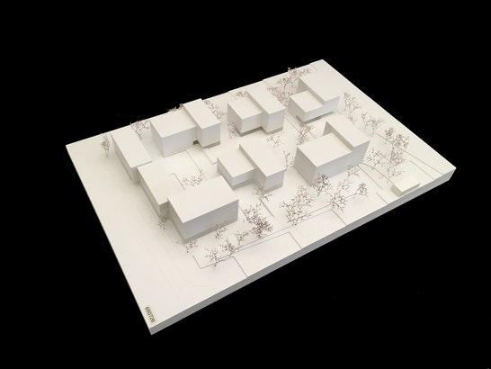 1. Preis: Modell, © SEHW Architektur