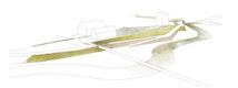 Isometrie Landschaftsbauwerk