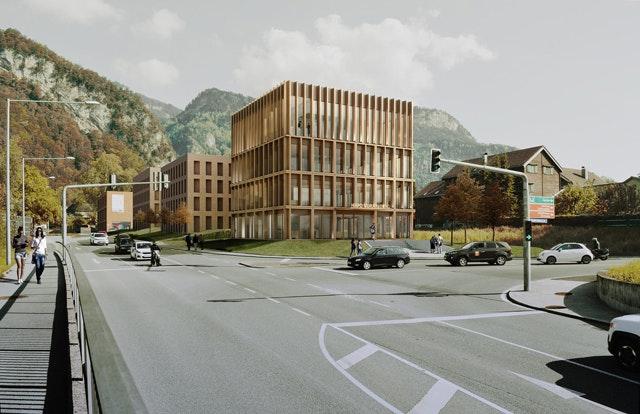 Neubau Hypofiliale Hohenems (AT)