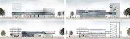 Ansicht + Schnitt © BLK2 Architekten