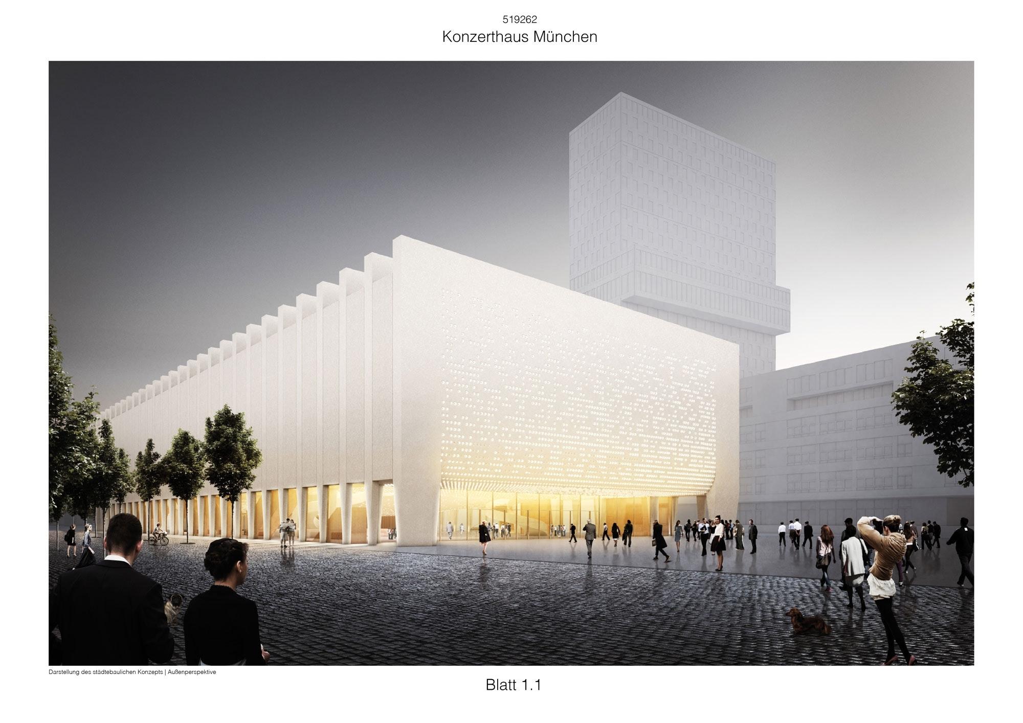 Ergebnis Neubau Konzerthauscompetitionline