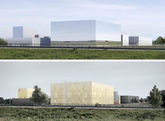 ein 2. Preis: Zwei 2. Preise: oben 03 Architekten GmbH, unten Ott Architekten