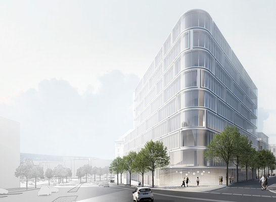 ein 2. Preis Zur Überarbeitung aufgefordert: © KSP Jürgen Engel Architekten