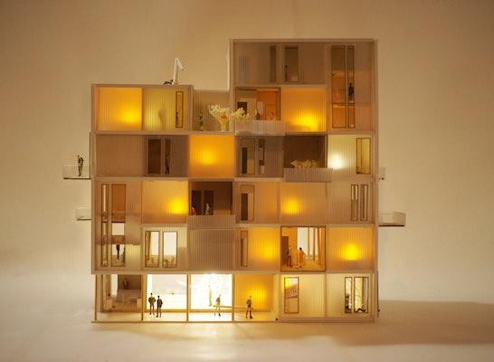 Auszeichnung: Video: https://flic.kr/p/CYubH4 Arrival City 4.0 - Bausystem zum integrativen Selbstbau, © Drexler Guinand Jauslin Architekten GmbH