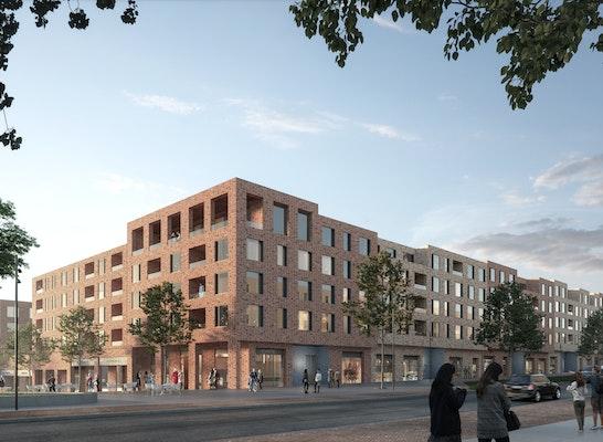 1.Preis Baufeld 11: Gössler Kinz Kerber Kreienbaum Architekten BDA