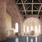 Parochialkirche, Offener Raum und Instrument im Ruhezustand