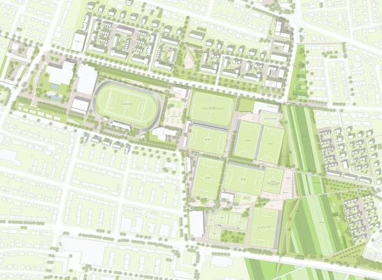 1. Rang Nach Überarbeitung: städtebauliches und freiräumliches Gesamtkonzept, © MESS GbR / urbane gestalt / SHP Ingenieure